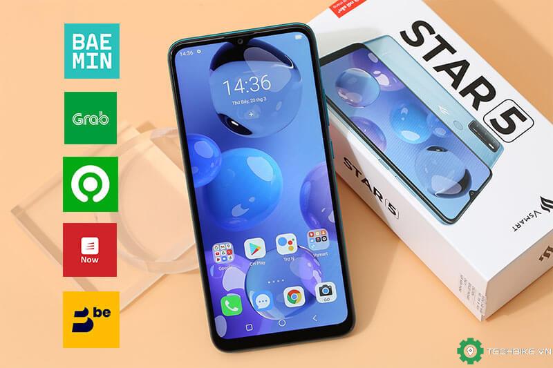 Vsmart Star 5, điện thoại tầm giá 2 triệu tốt nhất cho tài xế công nghệ