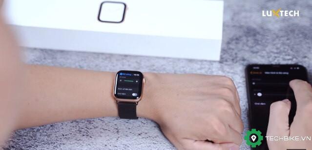 Điều chỉnh độ sáng màn hình apple watch