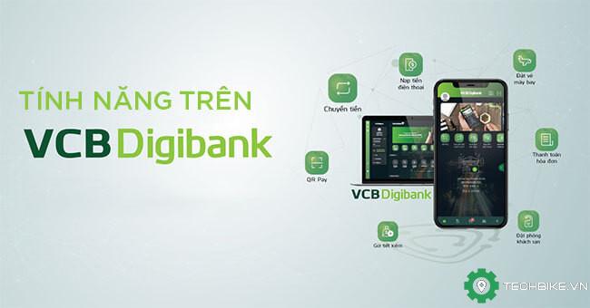 Tính năng VCB Digibank